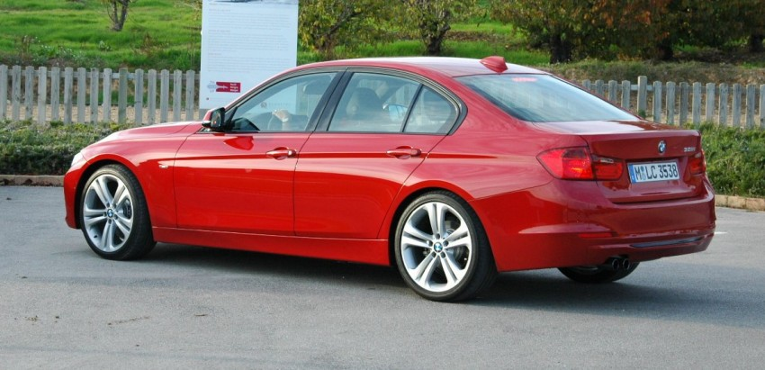 DRIVEN: BMW F30 3 Series – 320d diesel and new four-cylinder turbo 328i sampled in Spain! Image #85298