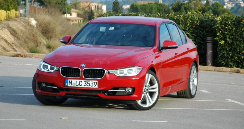 DRIVEN: BMW F30 3 Series – 320d diesel and new four-cylinder turbo 328i sampled in Spain! Image #85299