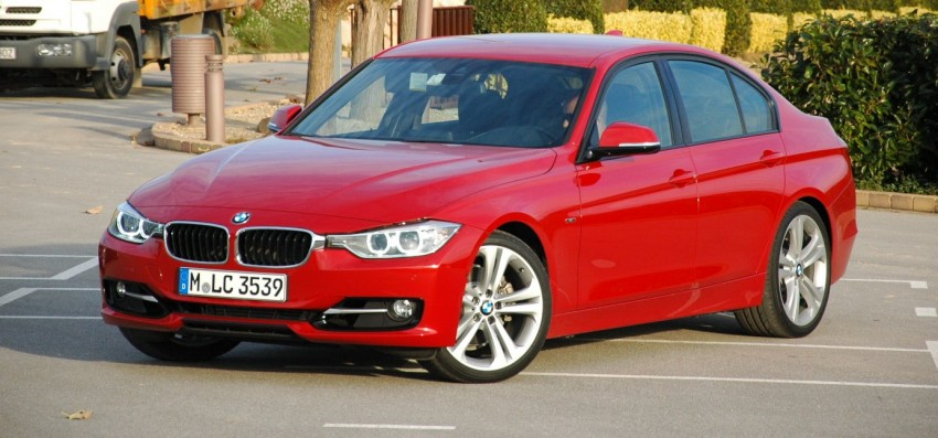 DRIVEN: BMW F30 3 Series – 320d diesel and new four-cylinder turbo 328i sampled in Spain! Image #85300