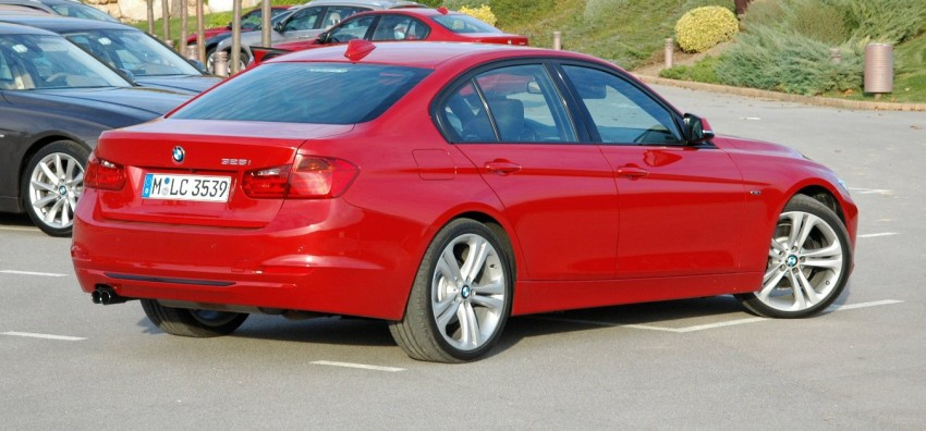 DRIVEN: BMW F30 3 Series – 320d diesel and new four-cylinder turbo 328i sampled in Spain! Image #85290