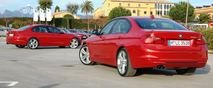 DRIVEN: BMW F30 3 Series – 320d diesel and new four-cylinder turbo 328i sampled in Spain! Image #85334