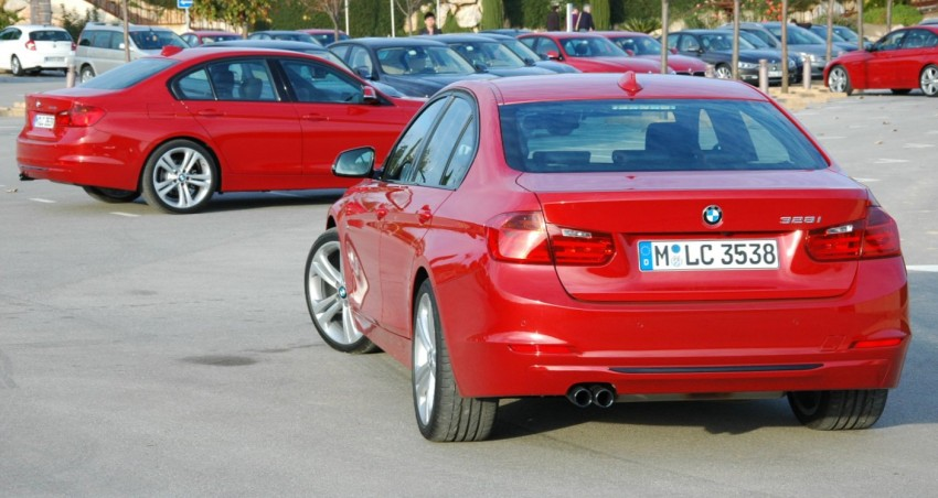 DRIVEN: BMW F30 3 Series – 320d diesel and new four-cylinder turbo 328i sampled in Spain! Image #85291