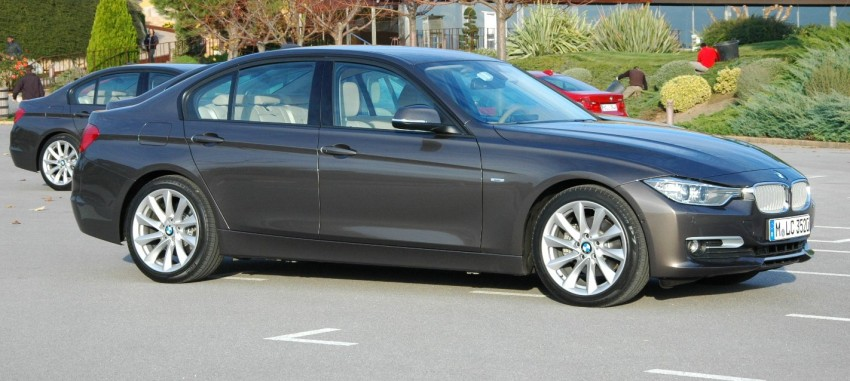 DRIVEN: BMW F30 3 Series – 320d diesel and new four-cylinder turbo 328i sampled in Spain! Image #85335
