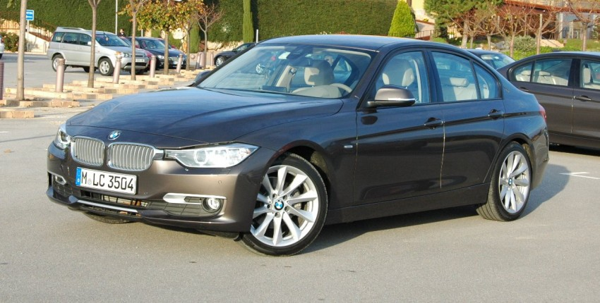 DRIVEN: BMW F30 3 Series – 320d diesel and new four-cylinder turbo 328i sampled in Spain! Image #85294