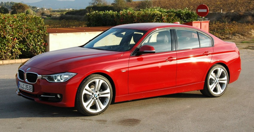 BMW F30 3-Series Test Drive Review – 320d diesel and new four cylinder turbo 328i sampled in Spain! Image #85295