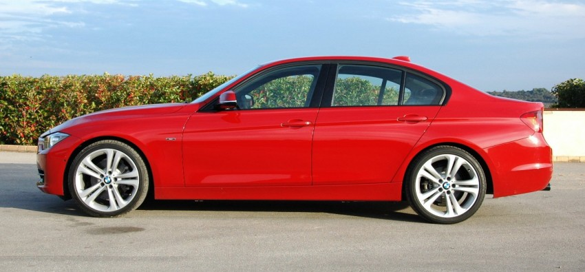 DRIVEN: BMW F30 3 Series – 320d diesel and new four-cylinder turbo 328i sampled in Spain! Image #85282