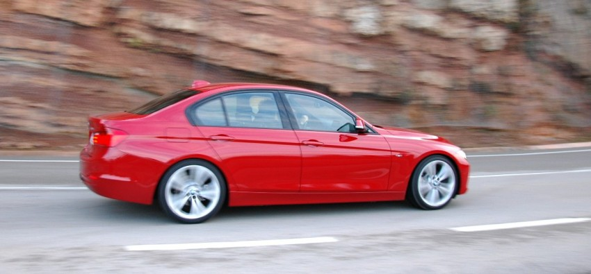 DRIVEN: BMW F30 3 Series – 320d diesel and new four-cylinder turbo 328i sampled in Spain! Image #85285