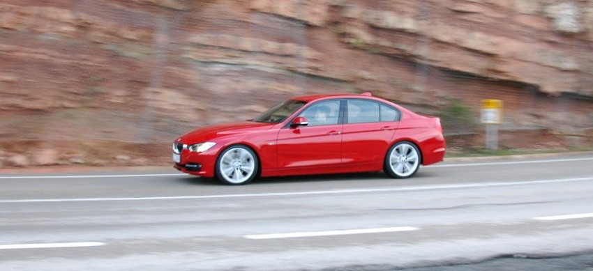 BMW F30 3-Series Test Drive Review – 320d diesel and new four cylinder turbo 328i sampled in Spain! Image #85287