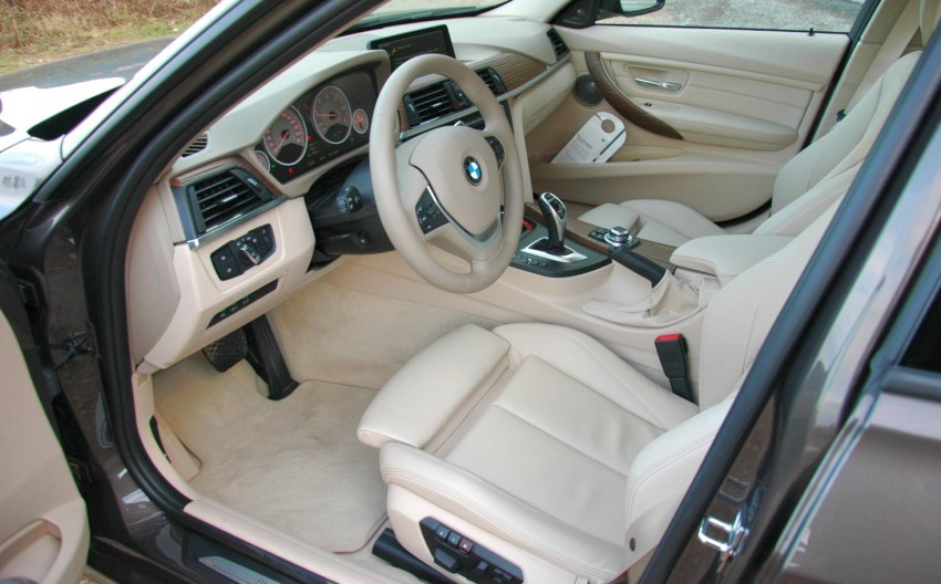BMW F30 3-Series Test Drive Review – 320d diesel and new four cylinder turbo 328i sampled in Spain! Image #85301