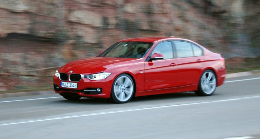 DRIVEN: BMW F30 3 Series – 320d diesel and new four-cylinder turbo 328i sampled in Spain! Image #85289