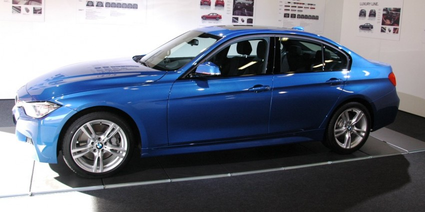 DRIVEN: BMW F30 3 Series – 320d diesel and new four-cylinder turbo 328i sampled in Spain! Image #85316