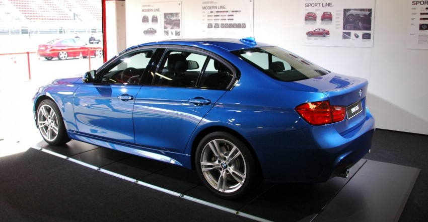 DRIVEN: BMW F30 3 Series – 320d diesel and new four-cylinder turbo 328i sampled in Spain! Image #85281