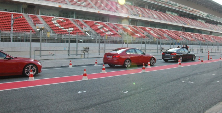 DRIVEN: BMW F30 3 Series – 320d diesel and new four-cylinder turbo 328i sampled in Spain! Image #85331