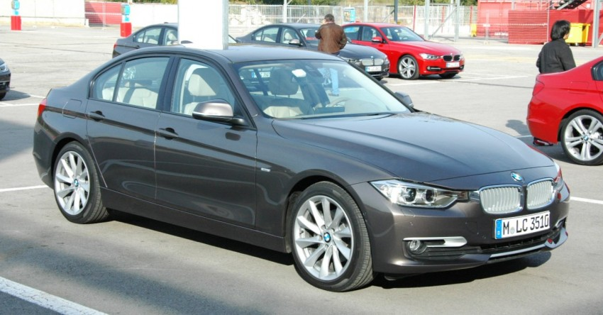DRIVEN: BMW F30 3 Series – 320d diesel and new four-cylinder turbo 328i sampled in Spain! Image #85317
