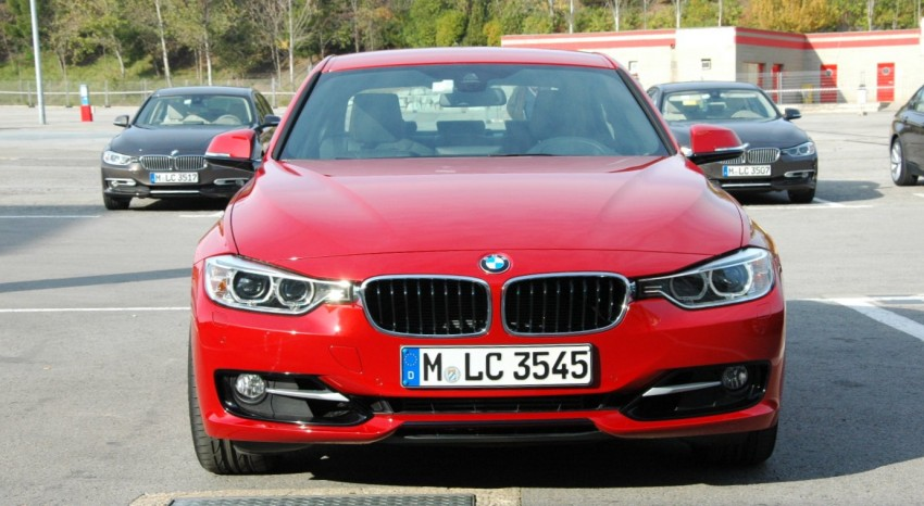 BMW F30 3-Series Test Drive Review – 320d diesel and new four cylinder turbo 328i sampled in Spain! Image #85318