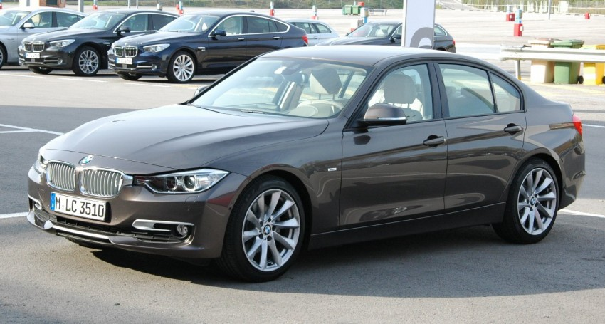 DRIVEN: BMW F30 3 Series – 320d diesel and new four-cylinder turbo 328i sampled in Spain! Image #85319