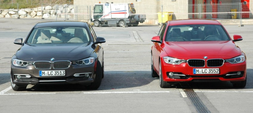 DRIVEN: BMW F30 3 Series – 320d diesel and new four-cylinder turbo 328i sampled in Spain! Image #85320