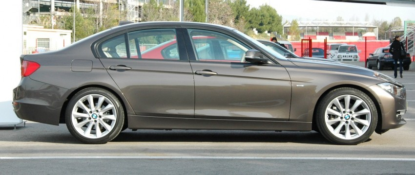 BMW F30 3-Series Test Drive Review – 320d diesel and new four cylinder turbo 328i sampled in Spain! Image #85321