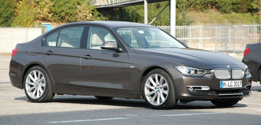 DRIVEN: BMW F30 3 Series – 320d diesel and new four-cylinder turbo 328i sampled in Spain! Image #85322