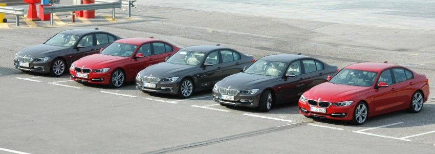 DRIVEN: BMW F30 3 Series – 320d diesel and new four-cylinder turbo 328i sampled in Spain! Image #85323