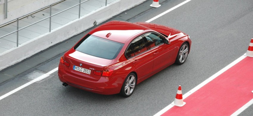DRIVEN: BMW F30 3 Series – 320d diesel and new four-cylinder turbo 328i sampled in Spain! Image #85324