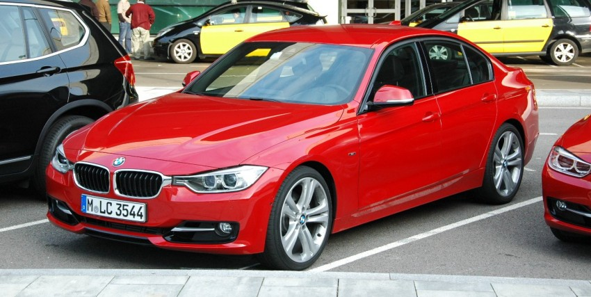 DRIVEN: BMW F30 3 Series – 320d diesel and new four-cylinder turbo 328i sampled in Spain! Image #85328