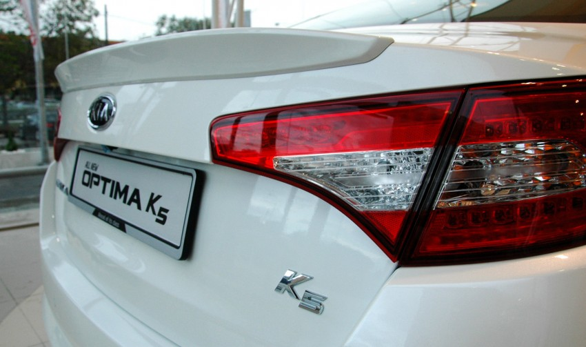 Kia Optima K5 2.0 launched – RM143,888 on-the-road Image #81515