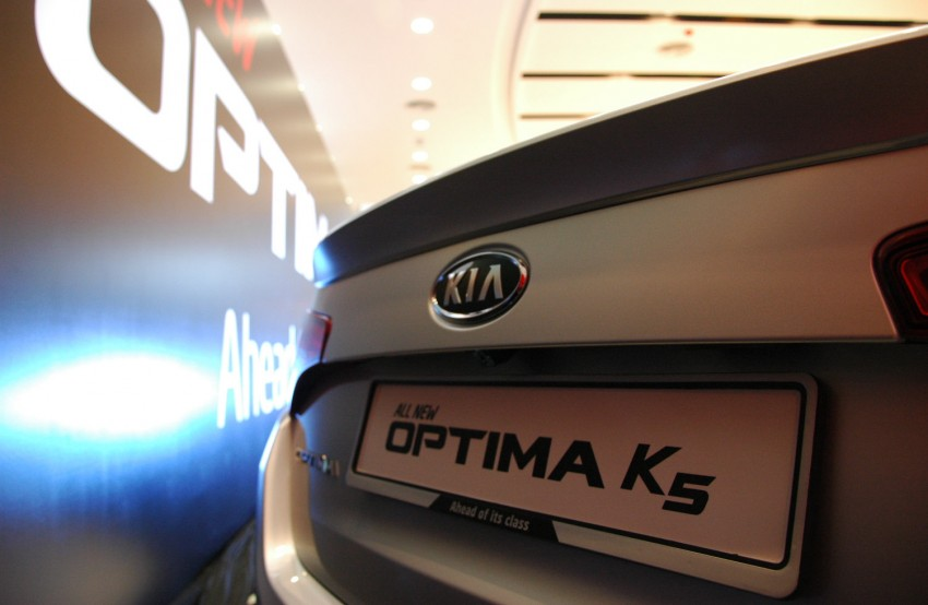 Kia Optima K5 2.0 launched – RM143,888 on-the-road Image #81508