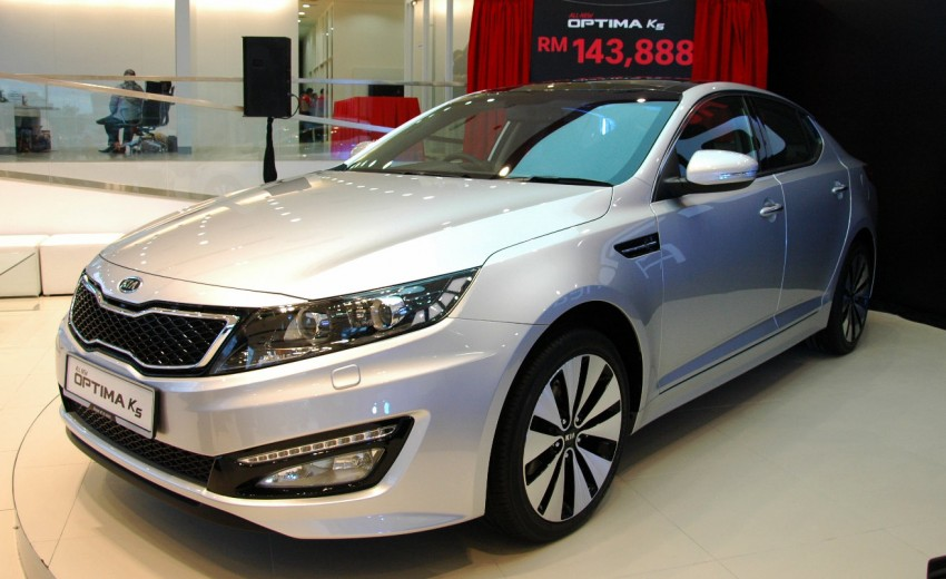 Kia Optima K5 2.0 launched – RM143,888 on-the-road Image #81509