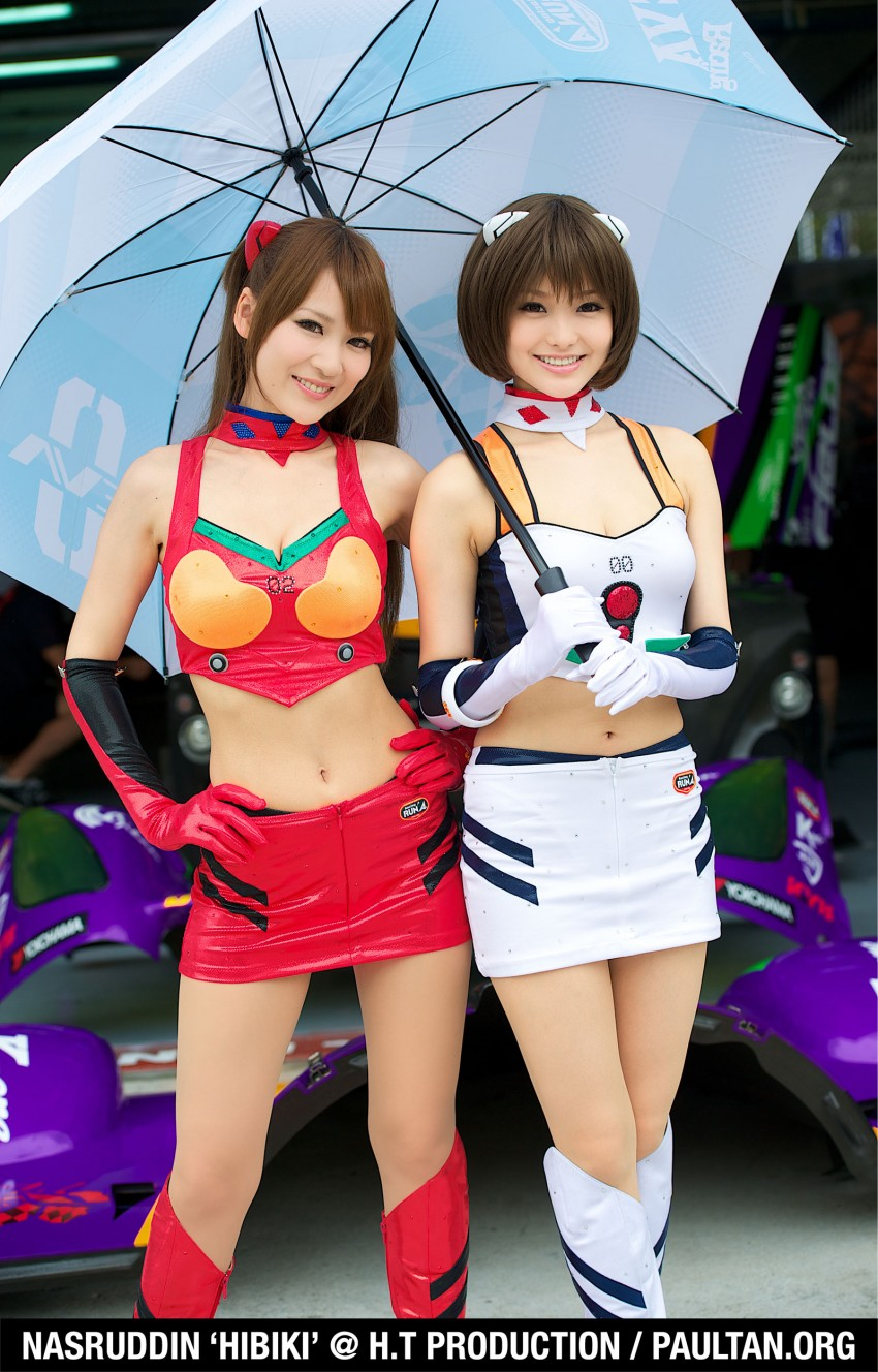 Super GT 2012 Rd 3: Of booth babes and race queens Image #112173