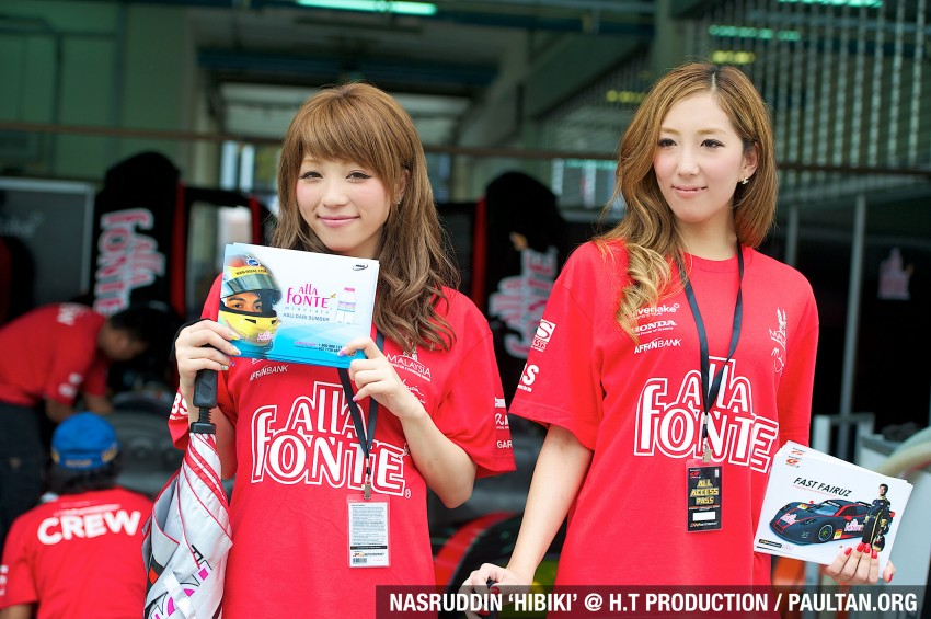 Super GT 2012 Rd 3: Of booth babes and race queens Image #112186