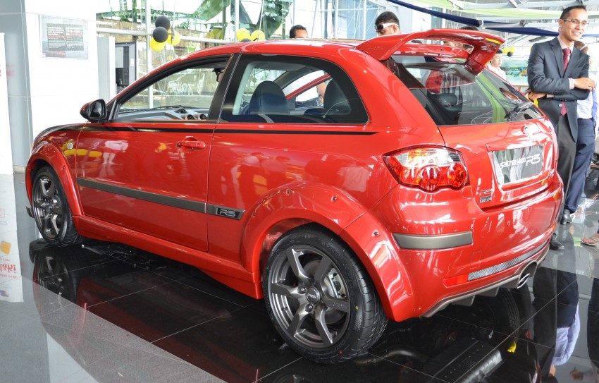 Proton Satria Neo R3 launched: RM61k-RM64k Image #143440