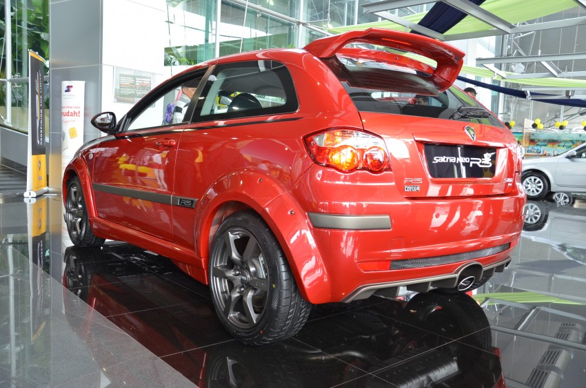 Proton Satria Neo R3 launched: RM61k-RM64k Image #143438