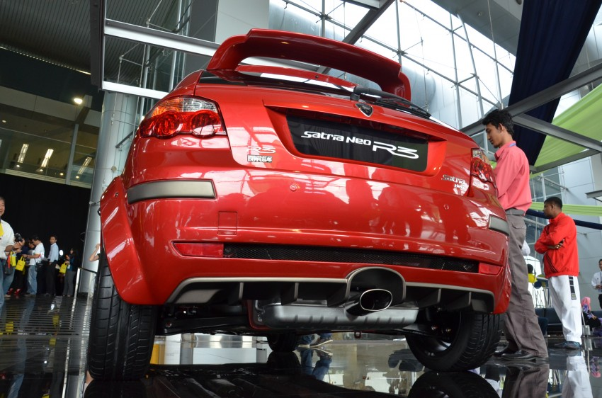 Proton Satria Neo R3 launched: RM61k-RM64k Image #143437