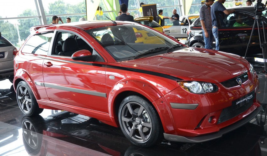 Proton Satria Neo R3 launched: RM61k-RM64k Image #143444