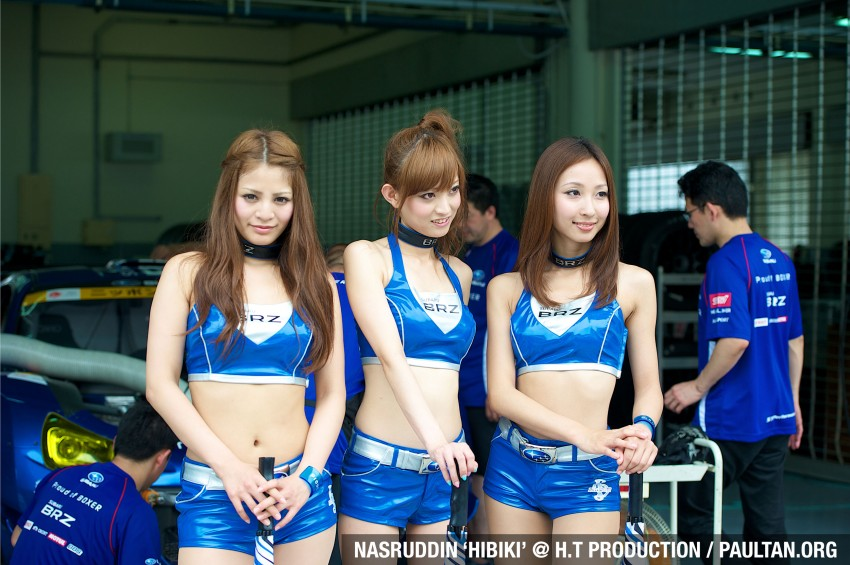 Super GT 2012 Rd 3: Of booth babes and race queens Image #112192
