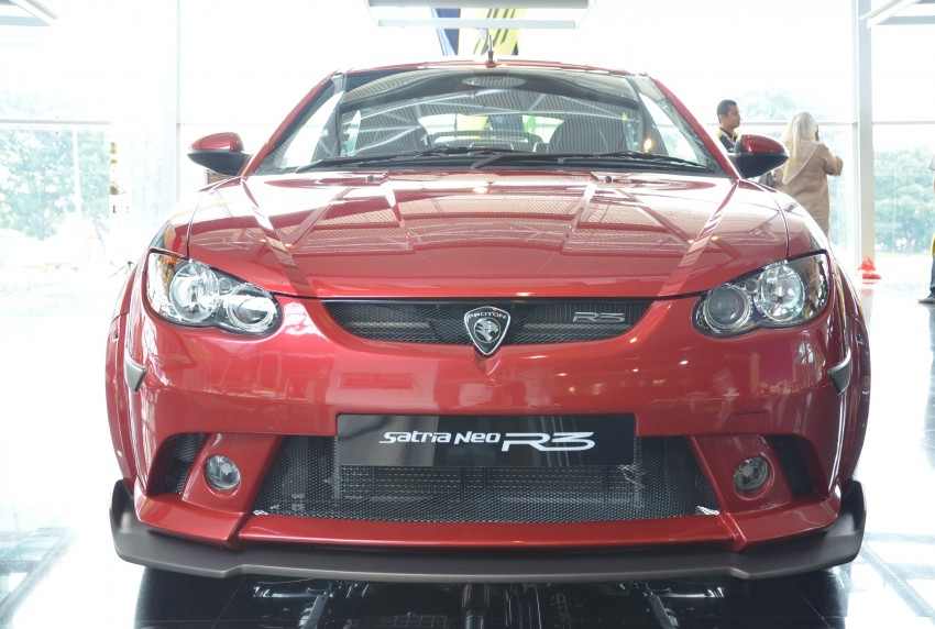 Proton Satria Neo R3 launched: RM61k-RM64k Image #143446