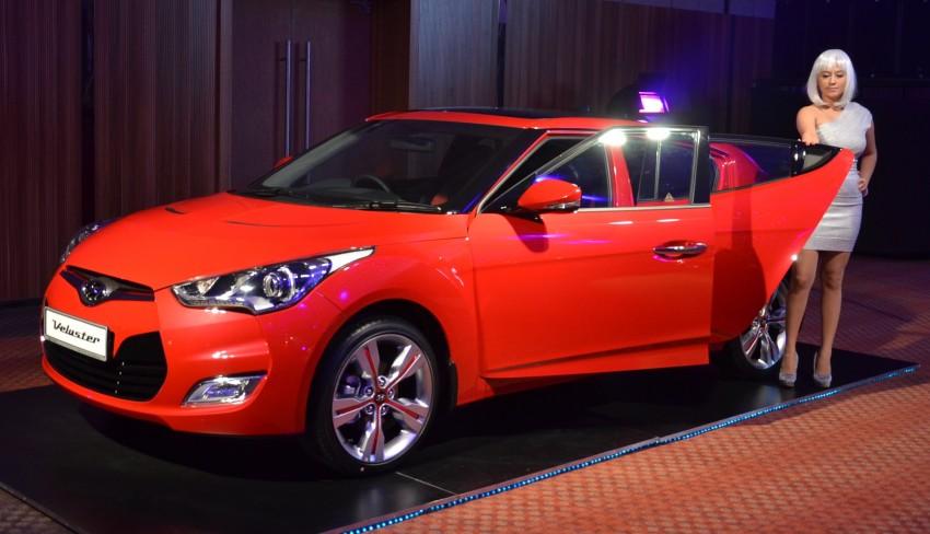 Hyundai Veloster: three variants, RM117k-133k Image #143777