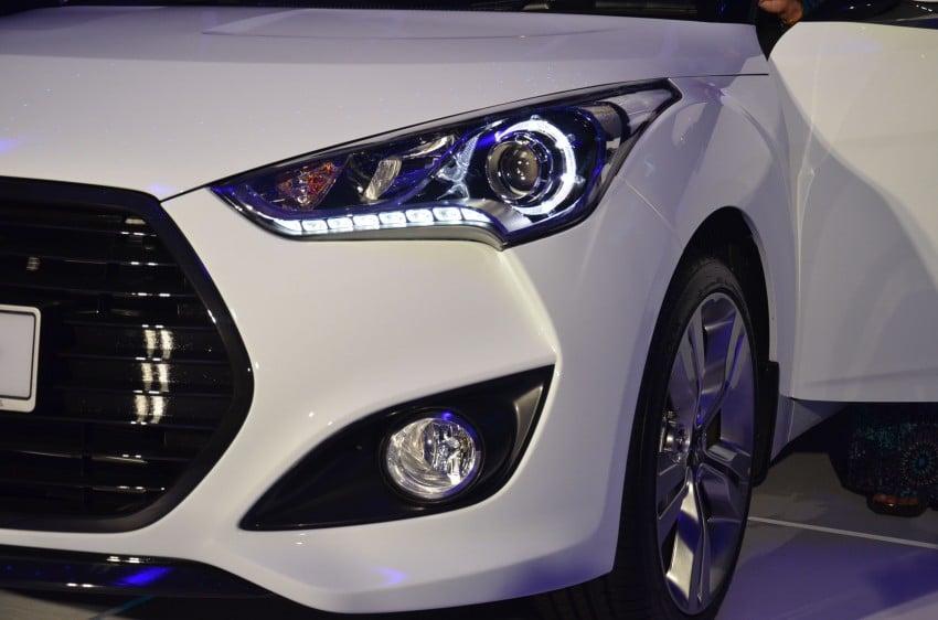 Hyundai Veloster: three variants, RM117k-133k Image #143794