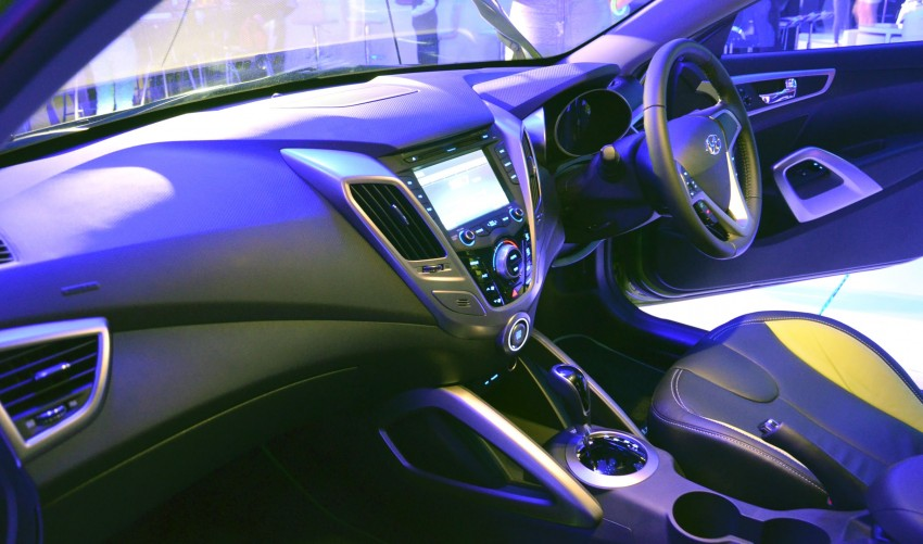 Hyundai Veloster: three variants, RM117k-133k Image #143800