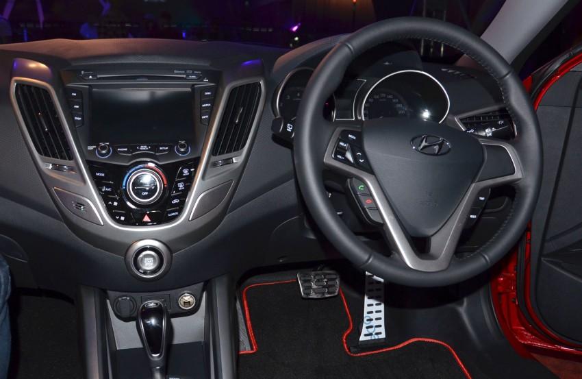 Hyundai Veloster: three variants, RM117k-133k Image #143804