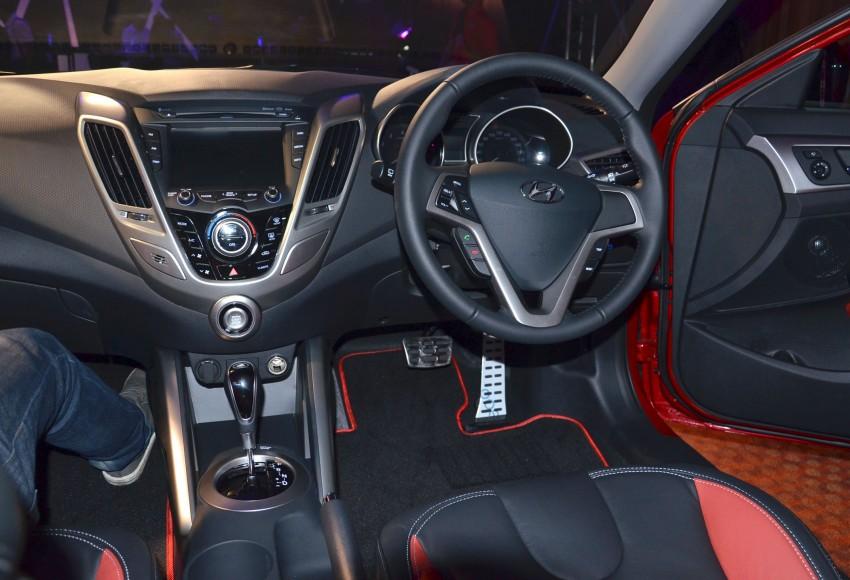 Hyundai Veloster: three variants, RM117k-133k Image #143837