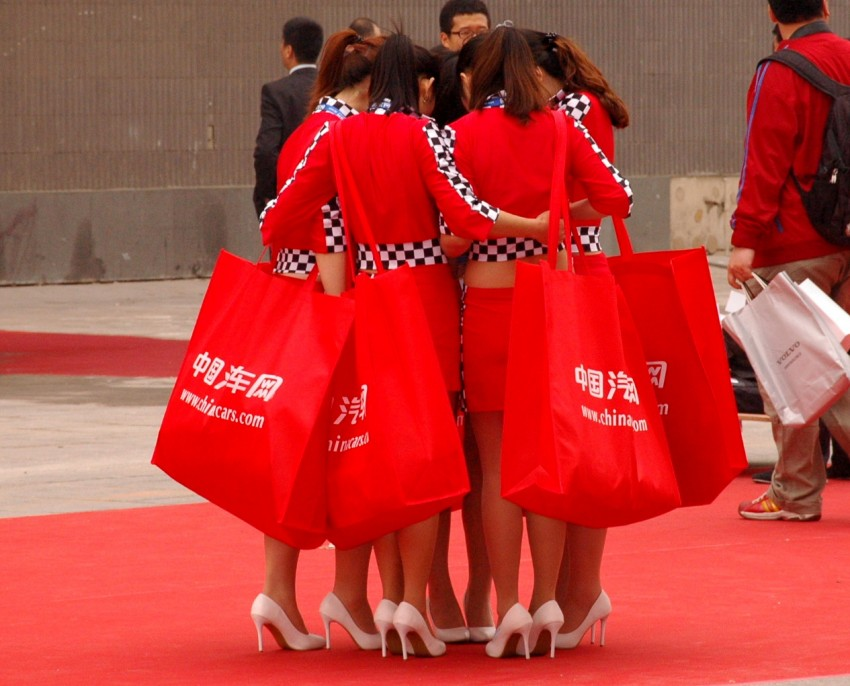 Auto China 2012: the ladies of Beijing share the spotlight Image #104329
