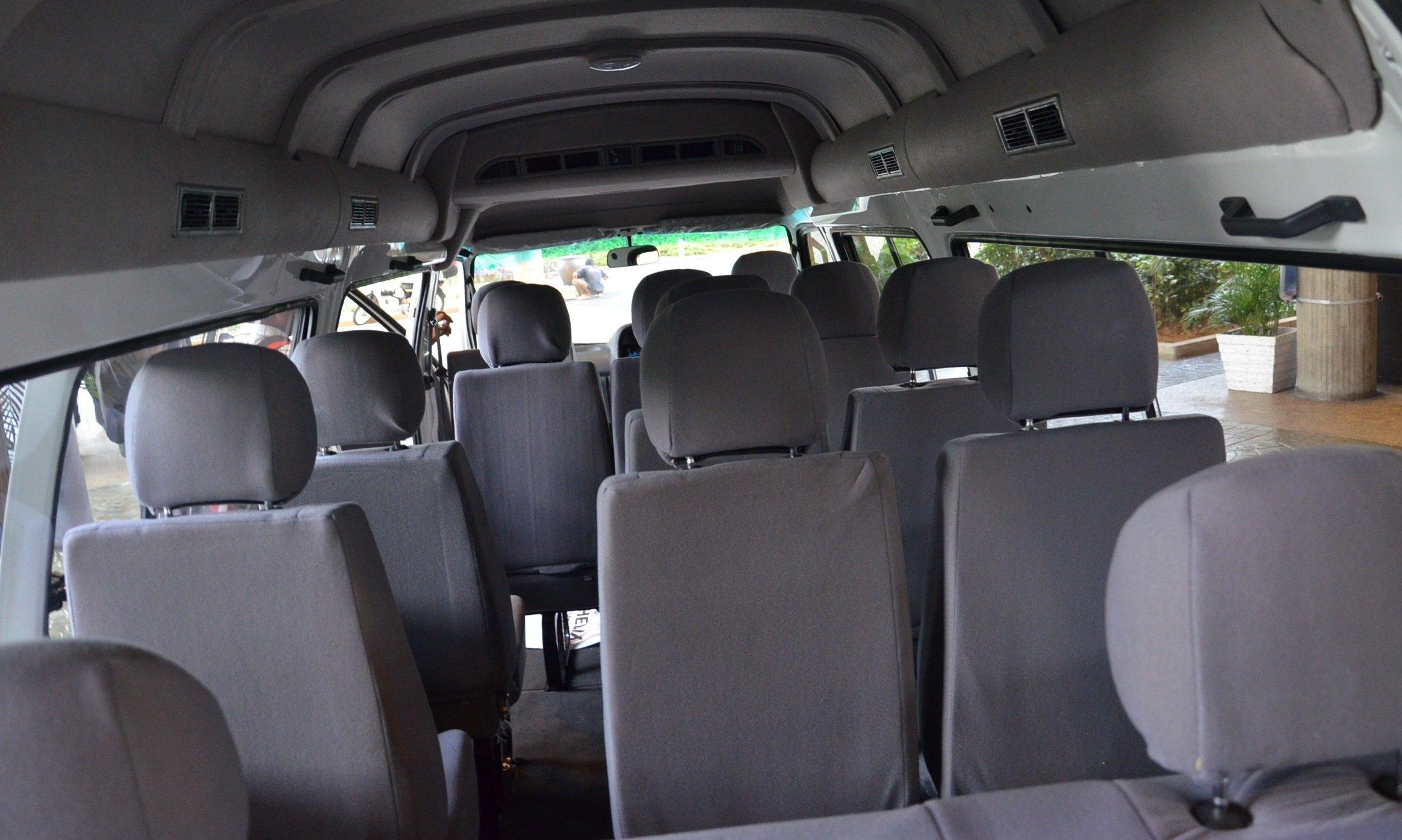 Foton View 14 Seater Window Van Debuts Paul Tan Image