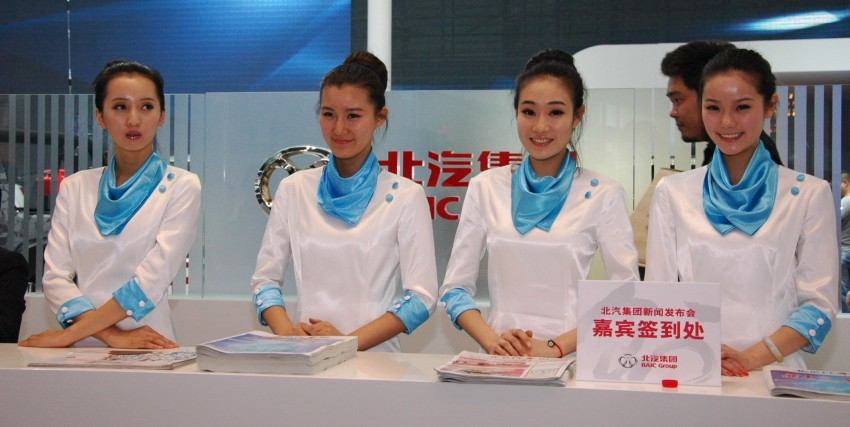 Auto China 2012: the ladies of Beijing share the spotlight Image #104341