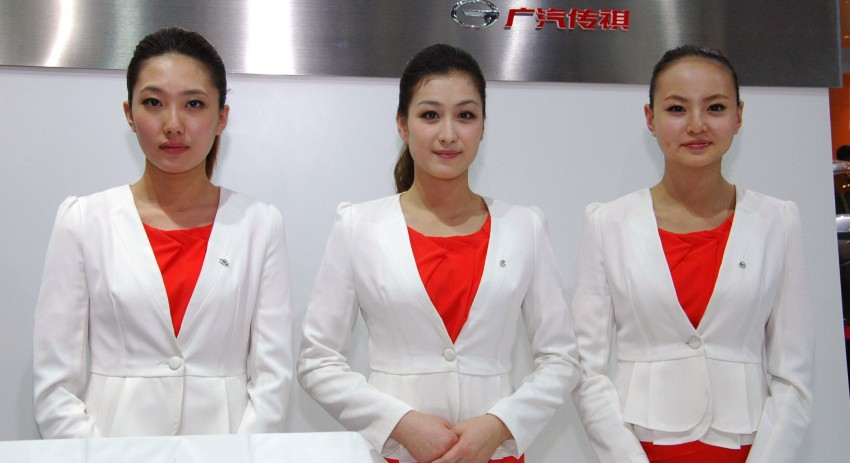 Auto China 2012: the ladies of Beijing share the spotlight Image #104340