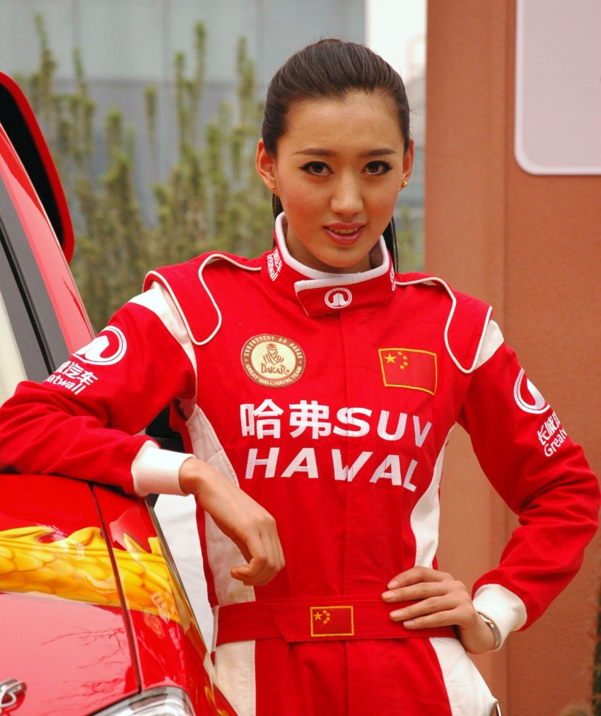 Auto China 2012: the ladies of Beijing share the spotlight Image #104369