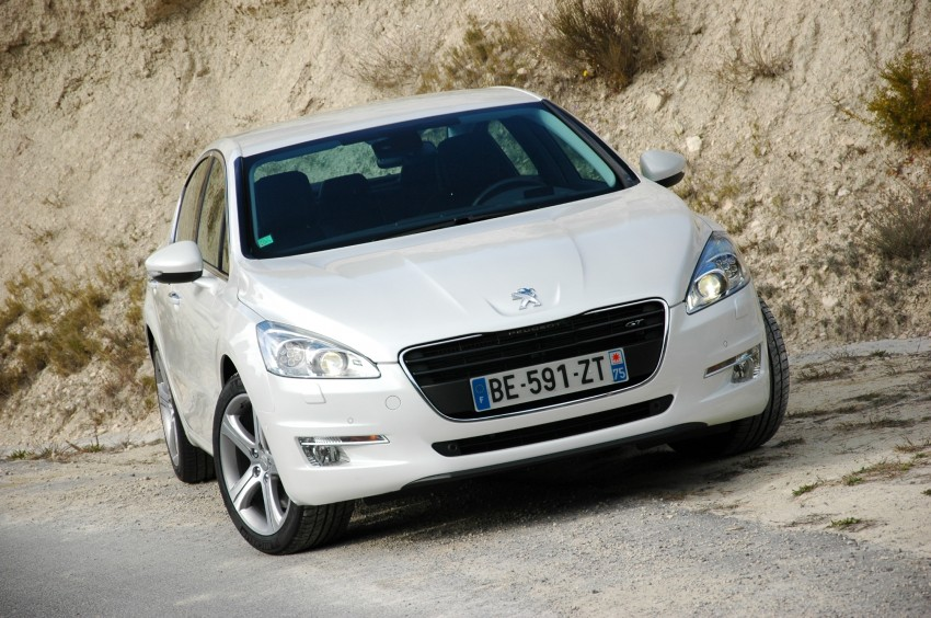 French flair: Peugeot 508 test drive report from Spain Image #73322