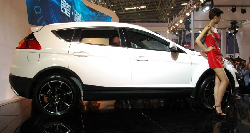 Youngman Lotus T5 – could this be Proton's new SUV? Image #102423