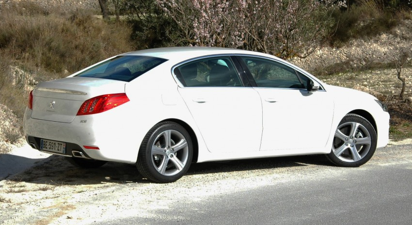 French flair: Peugeot 508 test drive report from Spain Image #73323